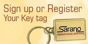 Sign up or Register Your Key Tag